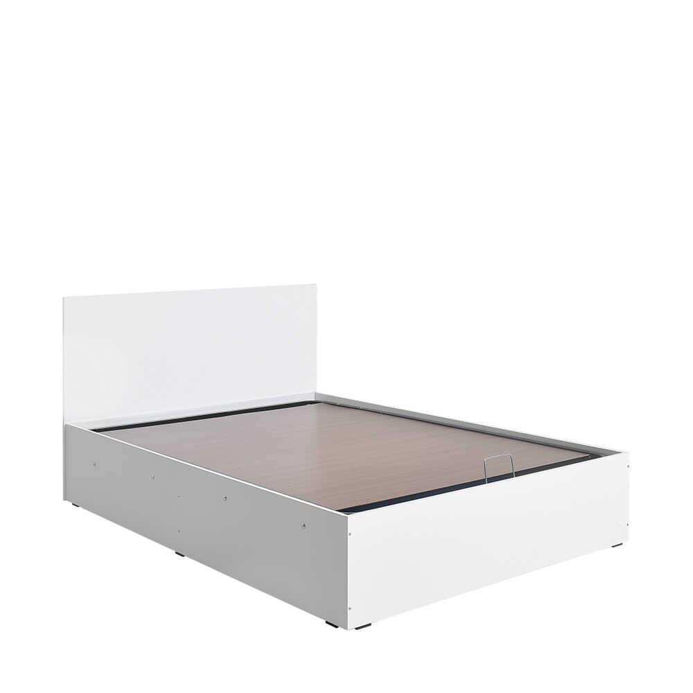135 cm Çift Kişilik Karyola - Diamond Beyaz