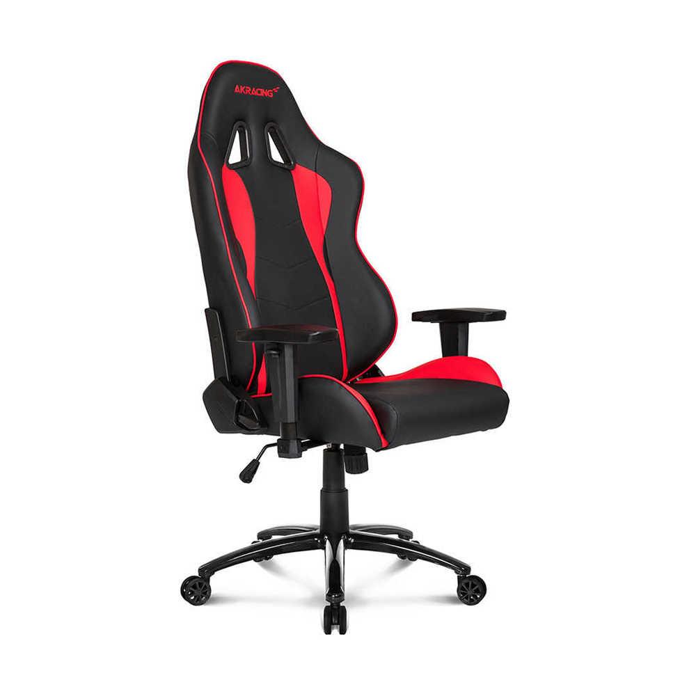 AKRacing Nitro Seri Profesyonel PC Oyuncu ve Yönetici Koltuğu - Kırmızı-Siyah