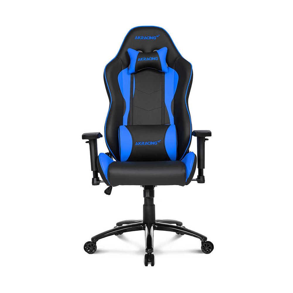 AKRacing Nitro Seri Profesyonel PC Oyuncu ve Yönetici Koltuğu - Siyah-Mavi