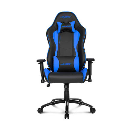 AKRacing Nitro Seri Profesyonel PC Oyuncu ve Yönetici Koltuğu - Siyah-Mavi - Thumbnail