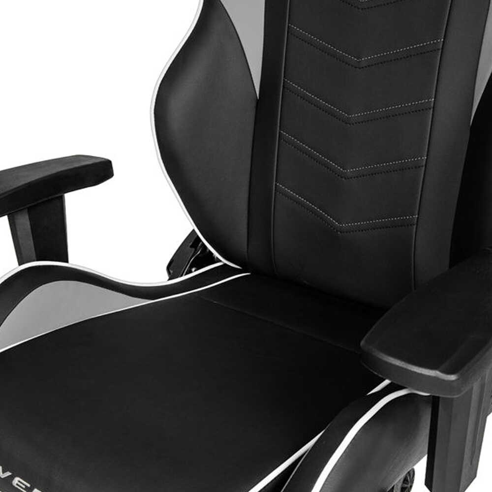AKRacing Overture Serisi Profesyonel PC Oyuncu ve Yönetici Koltuğu - Siyah-Beyaz