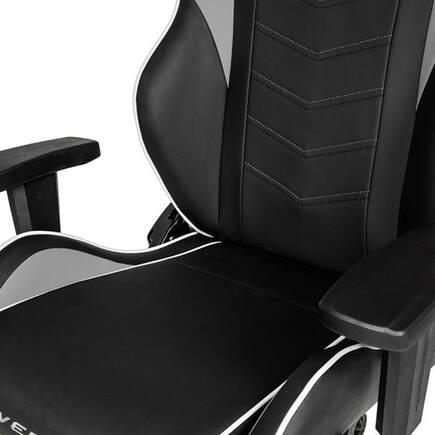 AKRacing Overture Serisi Profesyonel PC Oyuncu ve Yönetici Koltuğu - Siyah-Beyaz - Thumbnail