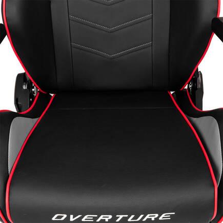 AKRacing Overture Serisi Profesyonel PC Oyuncu ve Yönetici Koltuğu - Siyah-Kırmızı - Thumbnail