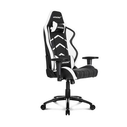 AKRACING - AKRacing Player Seri Profesyonel PC Oyuncu ve Yönetici Koltuğu - Siyah-Beyaz