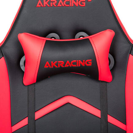 AKRacing Player Seri Profesyonel PC Oyuncu ve Yönetici Koltuğu - Kırmızı-Siyah - Thumbnail