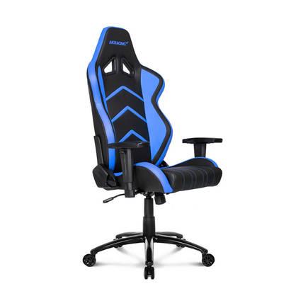 AKRACING - Adore AKRacing Player Seri Profesyonel PC Oyuncu ve Yönetici Koltuğu AKR-K601H-SM-1 Siyah-Mavi