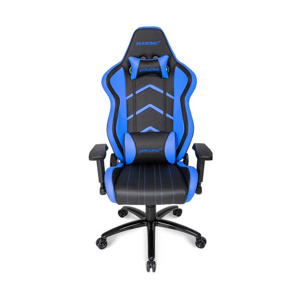 AKRacing Player Seri Profesyonel PC Oyuncu ve Yönetici Koltuğu - Siyah-Mavi