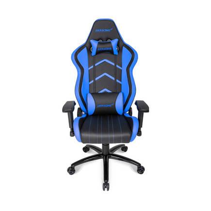 AKRacing Player Seri Profesyonel PC Oyuncu ve Yönetici Koltuğu - Siyah-Mavi - Thumbnail