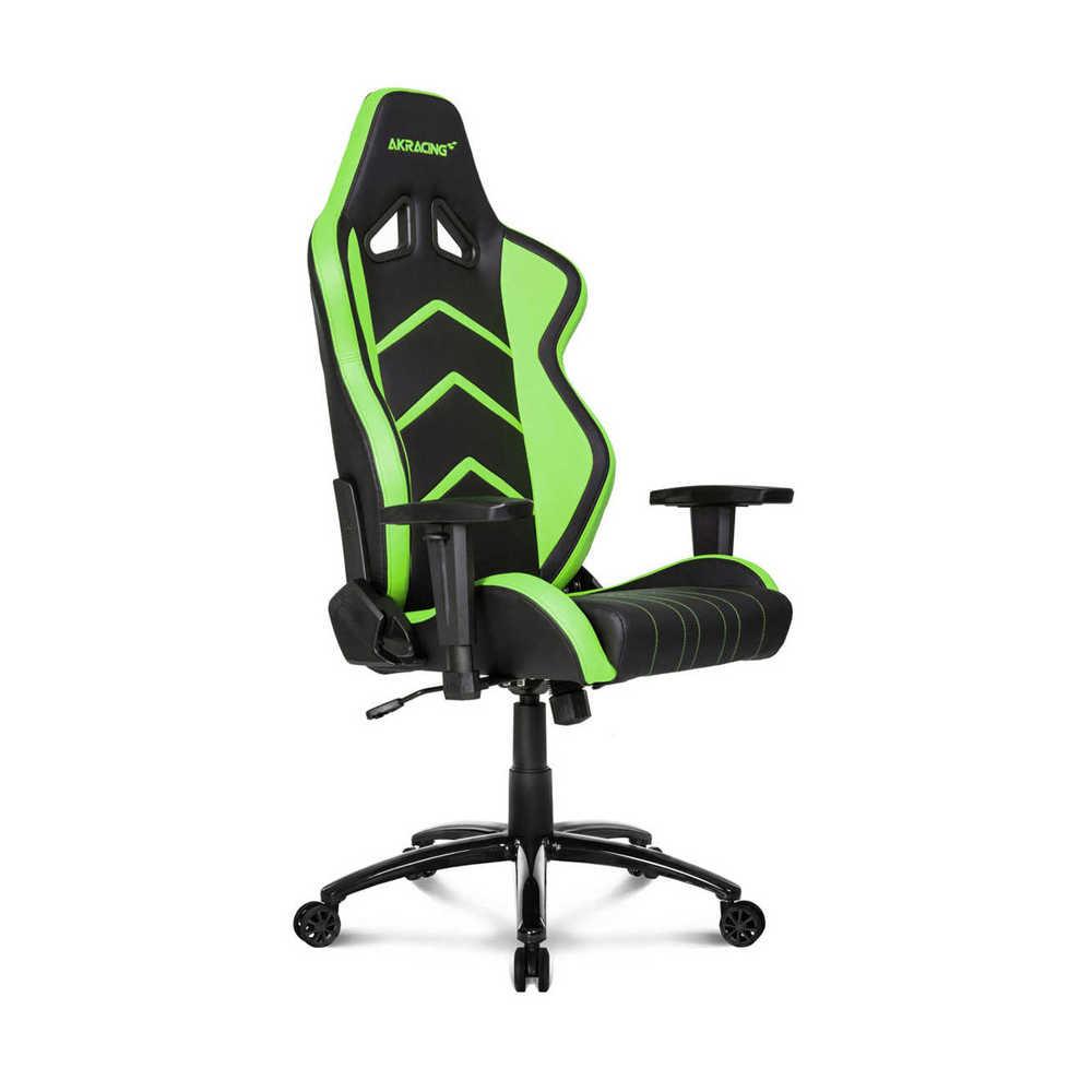 AKRacing Player Seri Profesyonel PC Oyuncu ve Yönetici Koltuğu - Siyah-Yeşil