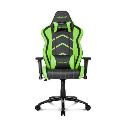 AKRacing Player Seri Profesyonel PC Oyuncu ve Yönetici Koltuğu - Siyah-Yeşil - Thumbnail