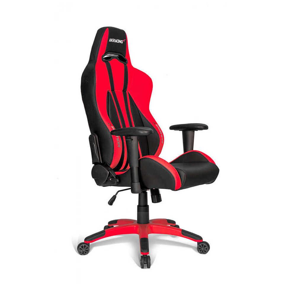 AKRacing Premium Seri Profesyonel PC Oyuncu ve Yönetici Koltuğu - Kırmızı-Siyah