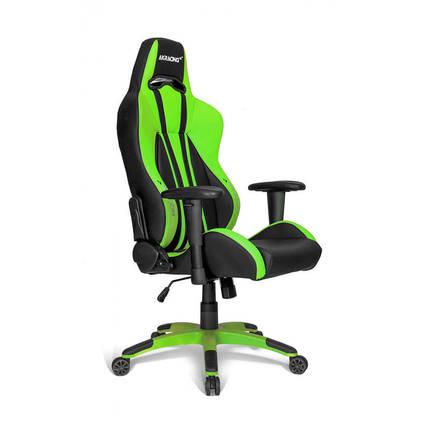 AKRACING - Adore AKRacing Premium Seri Profesyonel PC Oyuncu ve Yönetici Koltuğu AKR-K700Q-YS-1 Siyah-Yeşil