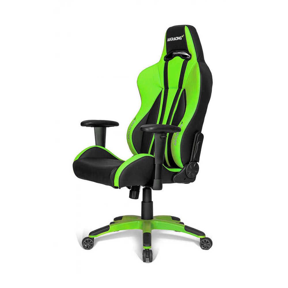 Adore AKRacing Premium Seri Profesyonel PC Oyuncu ve Yönetici Koltuğu AKR-K700Q-YS-1 Siyah-Yeşil