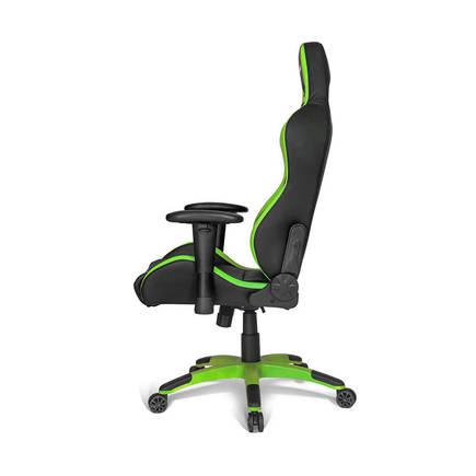 Adore AKRacing Premium Seri Profesyonel PC Oyuncu ve Yönetici Koltuğu AKR-K700Q-YS-1 Siyah-Yeşil - Thumbnail