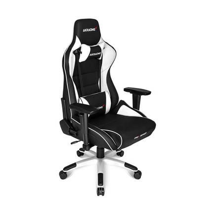AKRACING - AKRacing Pro X Serisi Profesyonel PC Oyuncu ve Yönetici Koltuğu - Siyah-Beyaz