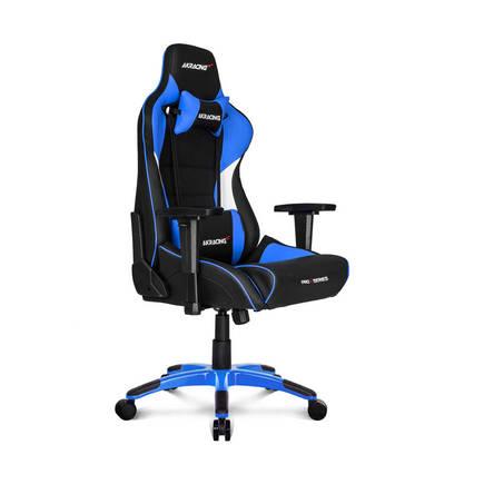 AKRACING - AKRacing Pro X Serisi Profesyonel PC Oyuncu ve Yönetici Koltuğu - Siyah-Mavi