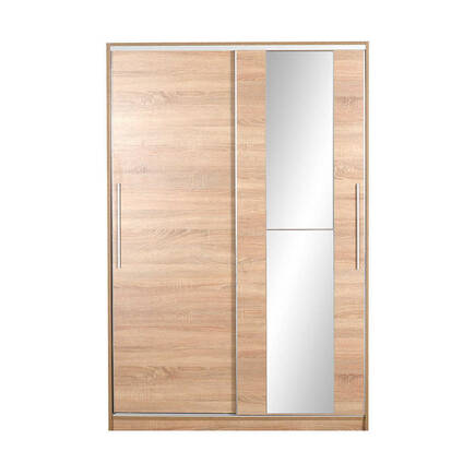 Aynalı Sürgülü Gardırop - Sonoma - Thumbnail