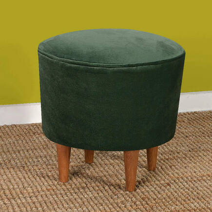 Badem Puf -Yeşil - Thumbnail