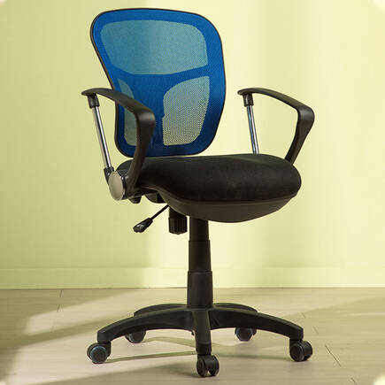 Comfort Ultra Ofis Sandalyesi - Mavi - Thumbnail