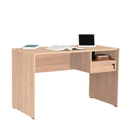 Concept Kilitli Çekmeceli Çalışma Masası - Sonoma - Thumbnail