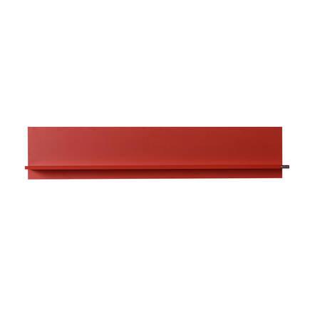 Dekoratif Duvar Rafı - Kırmızı - Thumbnail