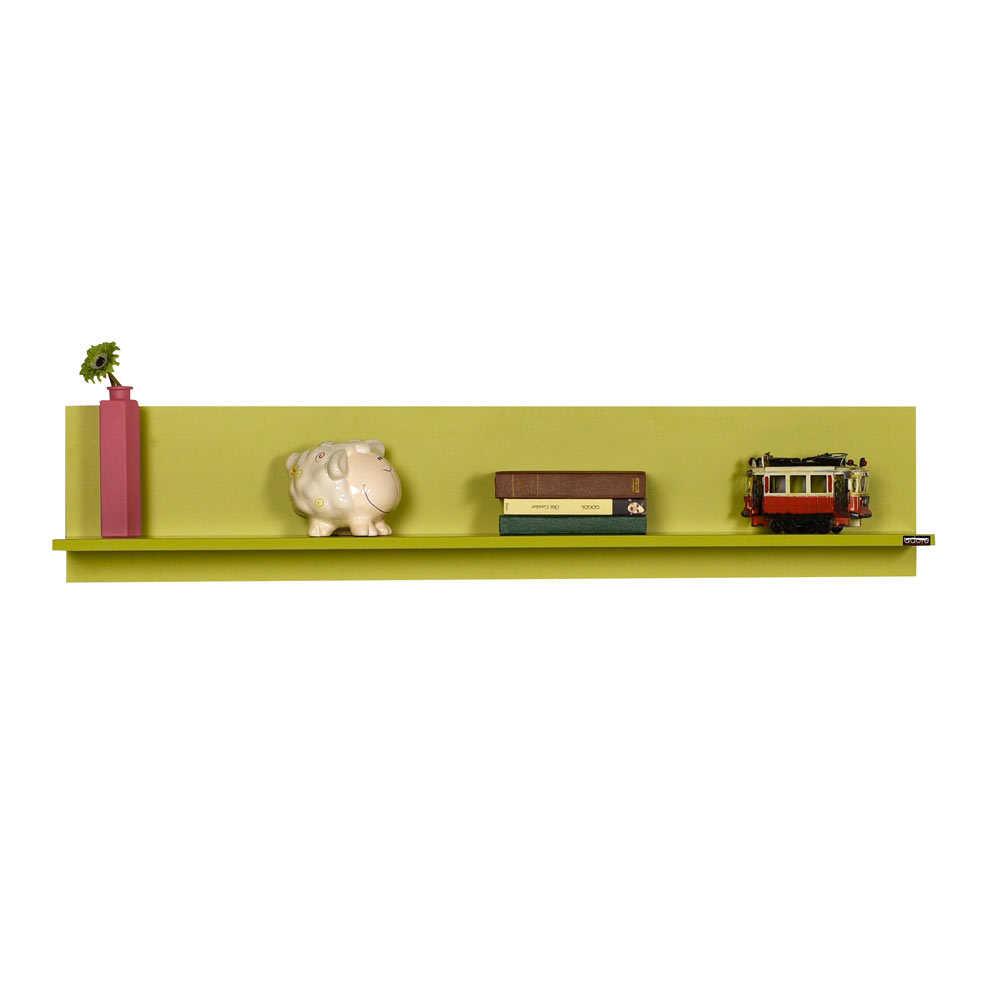 Dekoratif Duvar Rafı - Yeşil