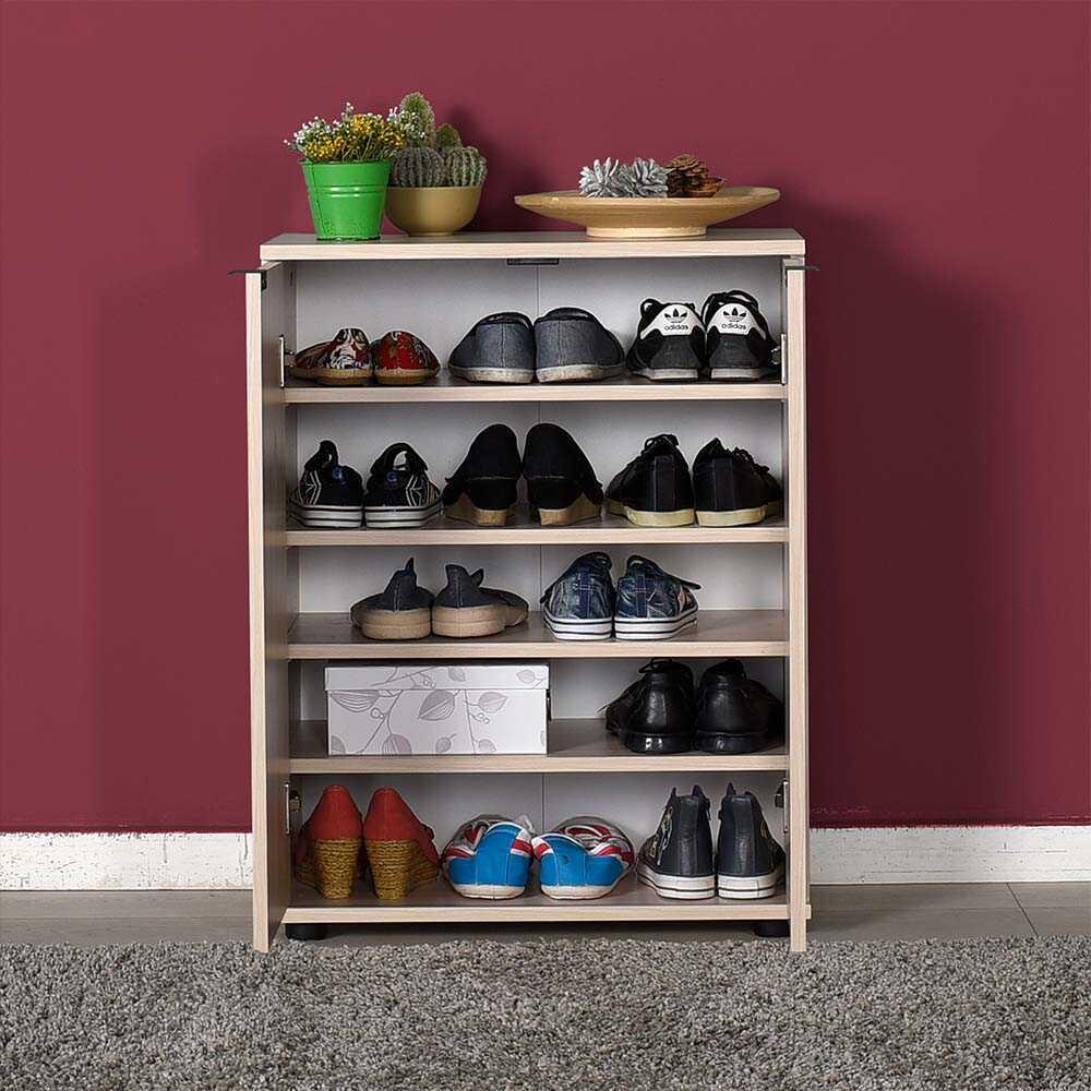 Dinamik 2 Kapaklı 5 Bölmeli Ayakkabılık - Zara