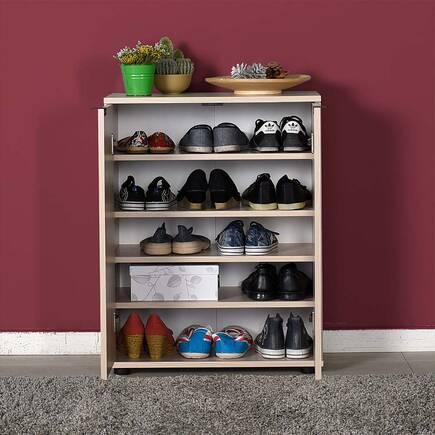 Dinamik 2 Kapaklı 5 Bölmeli Ayakkabılık - Zara - Thumbnail