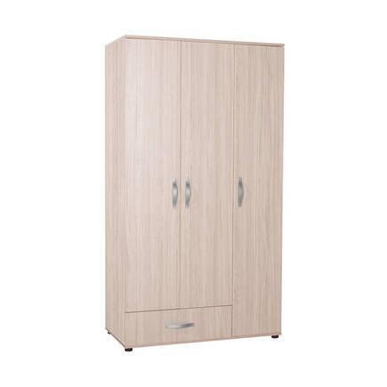 Adore Mobilya - Dinamik Genç Odası 3 Kapı Tek Çekmeceli Gardrop - Zara