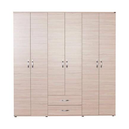 Dinamik Genç Odası 6 Kapı İki Çekmeceli Gardırop - Zara - Thumbnail