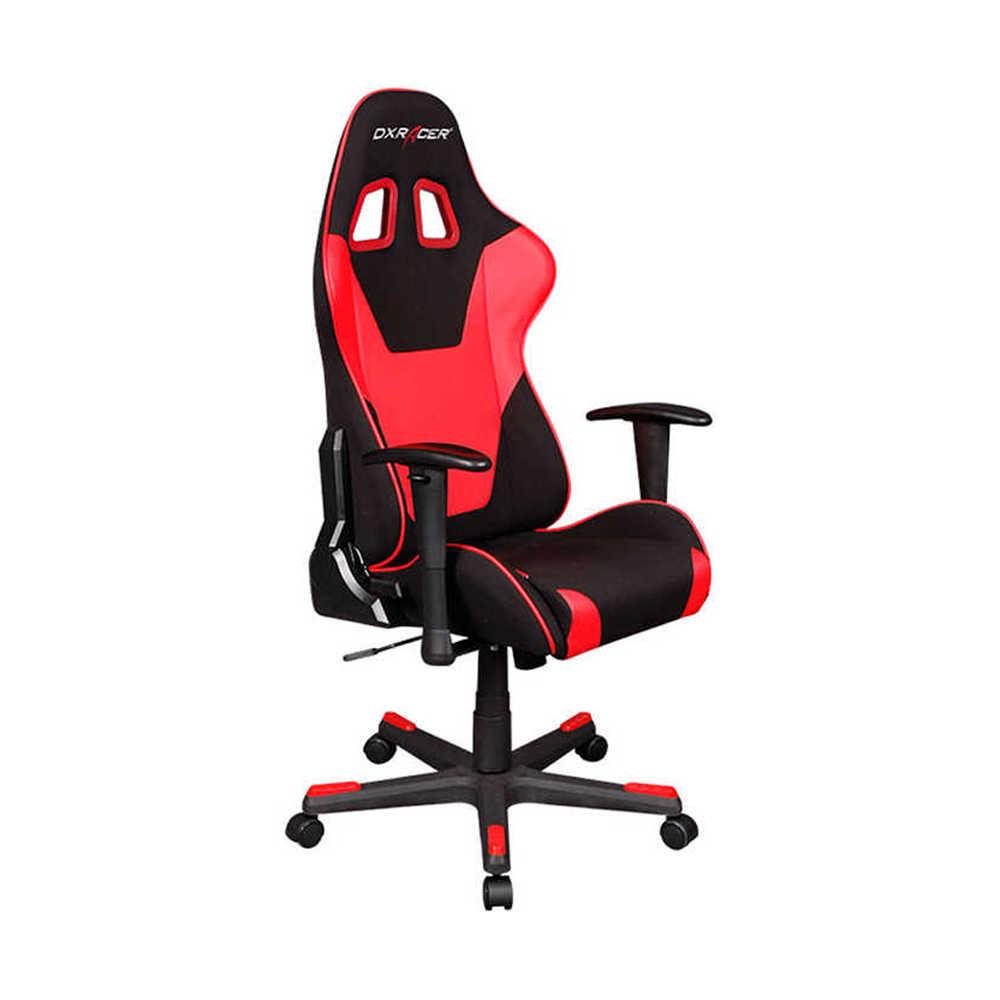 DXRacer Profesyonel Çalışma ve PC Oyun Koltuğu - Kırmızı - Siyah