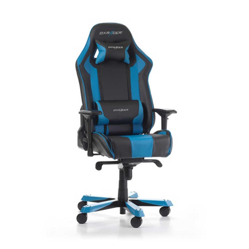 DXRacer Profesyonel Çalışma ve PC Oyun Koltuğu - Siyah - Mavi