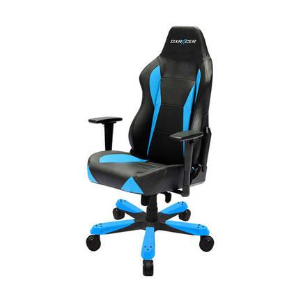 DXRacer Profesyonel Çalışma ve PC Oyun Koltuğu - Siyah - Mavi - Thumbnail