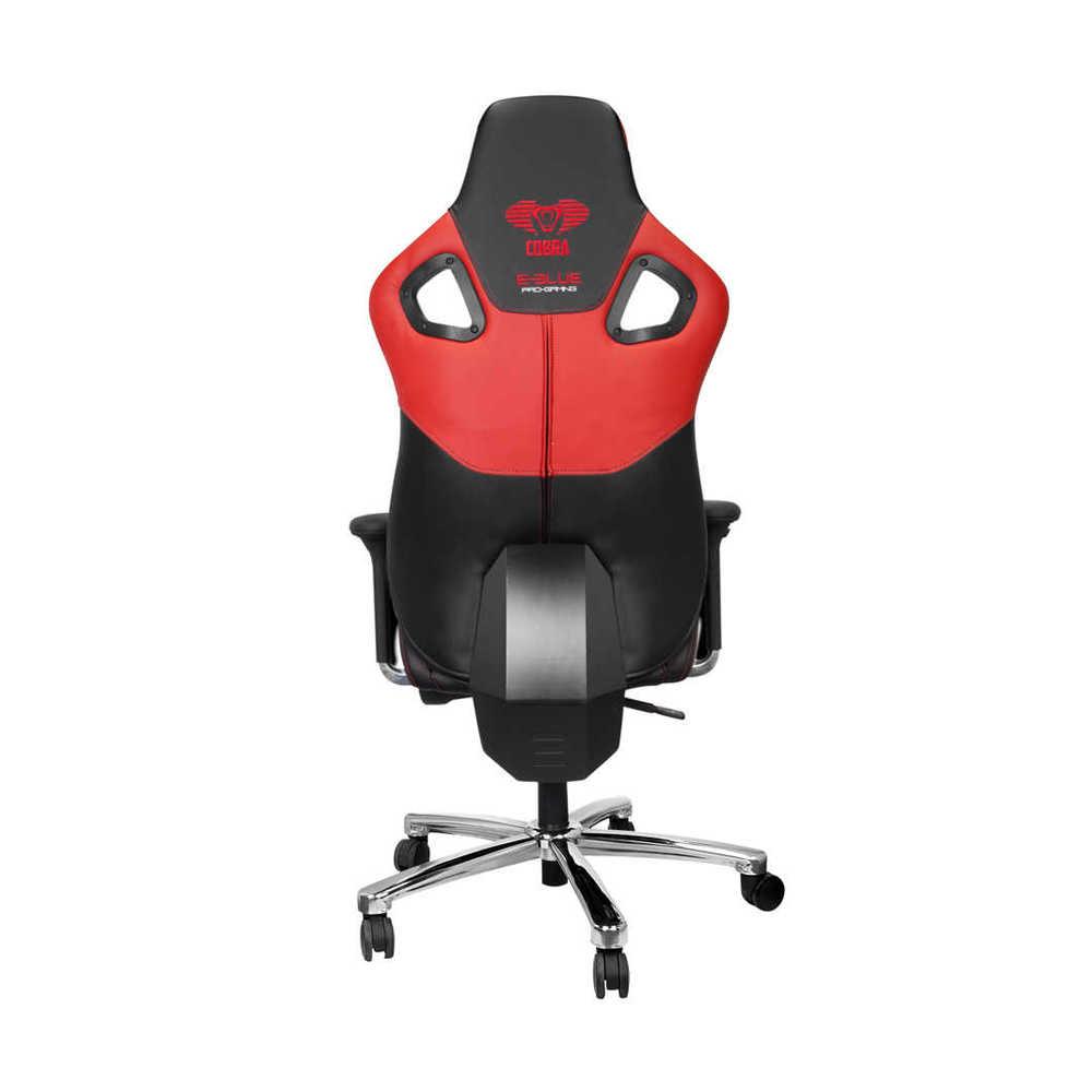 E-Blue Cobra Advanced Plus Oyuncu Koltuğu-S.Deri-Siyah Kırmızı