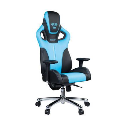 E-BLUE - E-Blue Cobra Advanced Plus Oyuncu Koltuğu-S.Deri Siyah-Mavi