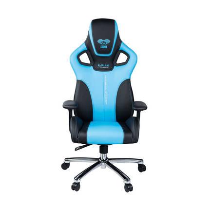 E-Blue Cobra Advanced Plus Oyuncu Koltuğu-S.Deri Siyah-Mavi - Thumbnail