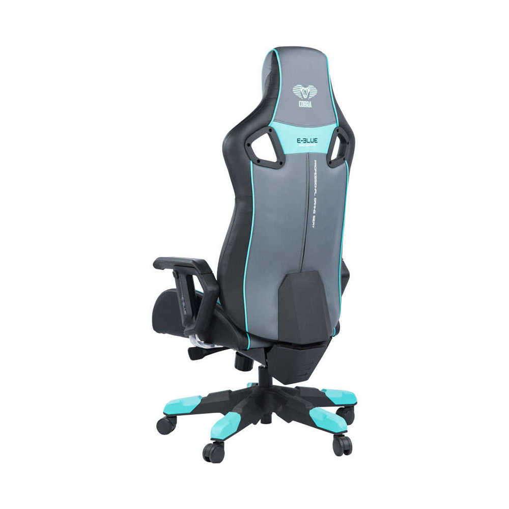 E-Blue Cobra Pro XLOyuncu Koltuğu-S.Deri K-Gri-Mavi
