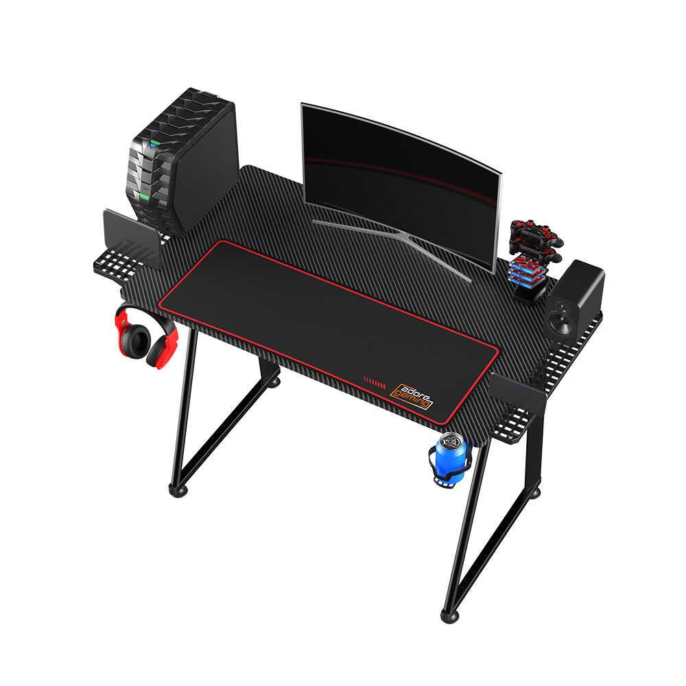 Adore Gaming NEX-GEN Oyuncu Bilgisayar Masası - Siyah
