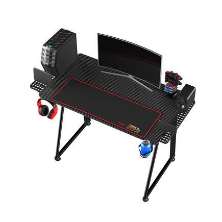 Adore Gaming NEX-GEN Oyuncu Bilgisayar Masası - Siyah - Thumbnail