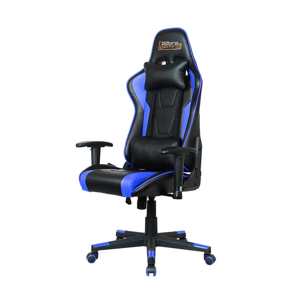 Adore Gaming Profesyonel Oyuncu Koltuğu-Siyah-Mavi