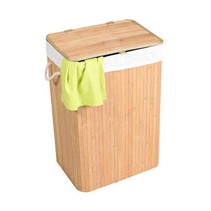 Handy Mate Bambu Çamaşır Sepeti - Naturel - Thumbnail