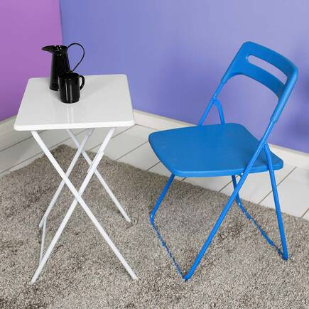 Handy Mate Ready Katlanır Sandalye - Mavi - Thumbnail