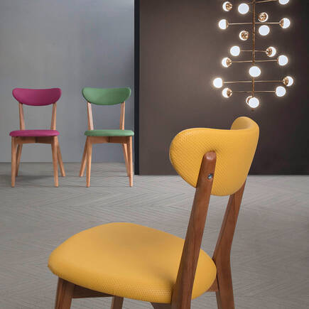 Houston Mini Sandalye-Karışık - Thumbnail