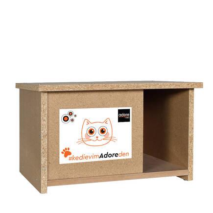 Adore Mobilya - Kedi Evi - Ahşap