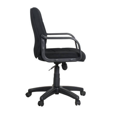 Adore Max Office Classic Kumaş Çalışma Koltuğu MXY134SY Siyah - Thumbnail
