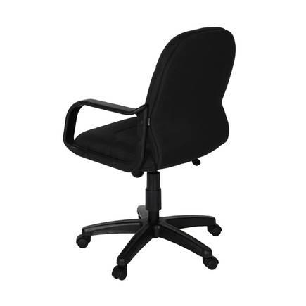 Max Office Classic Kumaş Çalışma Koltuğu - Siyah - Thumbnail