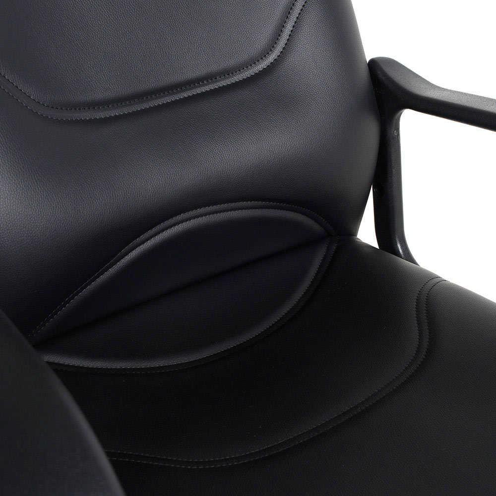 Max Office Classic Suni Deri Misafir Koltuğu - Siyah - Suni Deri 2 Adet