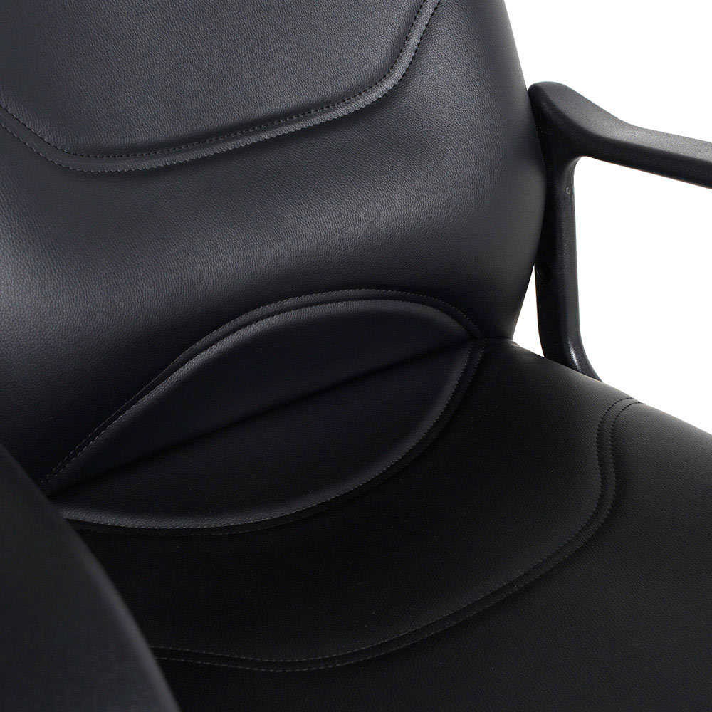 Adore Max Office Classic Suni Deri Misafir Koltuğu MXY003DS Siyah - Suni Deri 2 Adet
