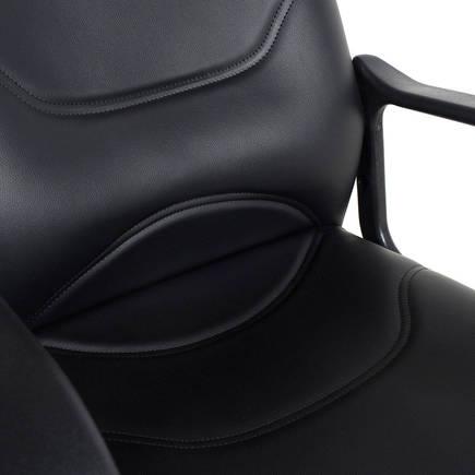 Adore Max Office Classic Suni Deri Misafir Koltuğu MXY003DS Siyah - Suni Deri 2 Adet - Thumbnail