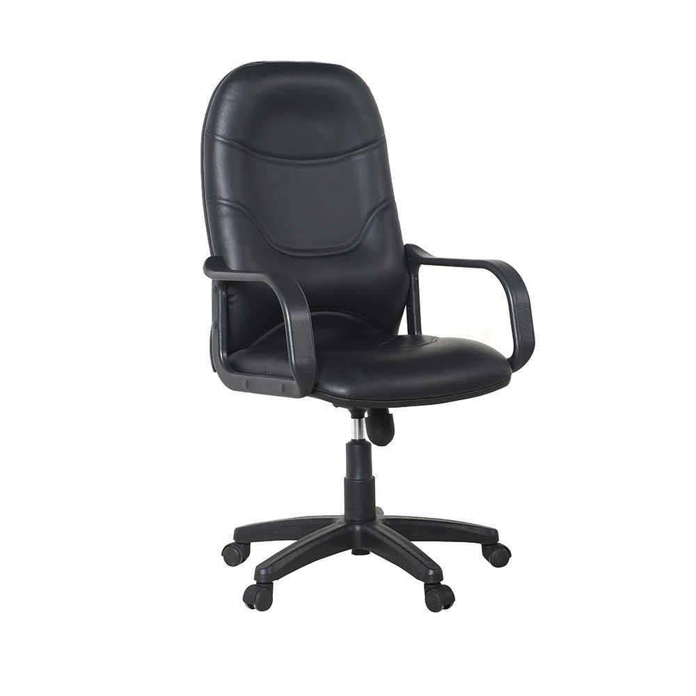 Max Office Classic Suni Deri Yönetici Koltuğu - Siyah - Suni Deri